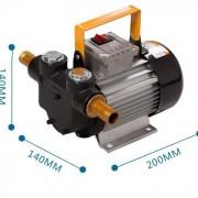 Насос для дизельного топлива 220 В, 20-60 лмин 2